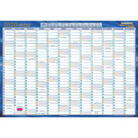 WRITERAZE 2020 EXECUTIVE YEAR PLANNER LAMINATED 500 X 700MM