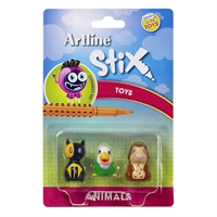 ARTLINE STIX TOYS ANIMALS 2 PACK 3