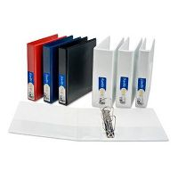 BANTEX INSERT RING BINDER 2D 25MM A5 BLUE