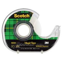 SCOTCH 810 MAGIC TAPE IN DISPENSER 19MM X 33M