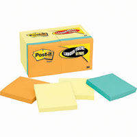 POST-IT 654-14-4B ORIGINAL NOTES 76 X 76MM YELLOW PACK 14 PLUS 4 BONUS BRIGHT PADS