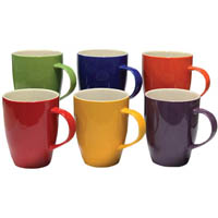 CONNOISSEUR A LA CARTE MUGS 370ML ASSORTED PACK 6