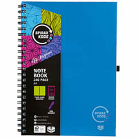 SPIRAX P959 KODE NOTEBOOK 240 PAGE A4 ASSORTED