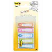 POST-IT 684-SH NOTE FLAGS WITH ARROW ASSORTED COLOURS PACK 100