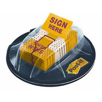 POST-IT 680-HVSH SIGN HERE FLAGS VALUE PACK DESK DISPENSER