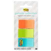 POST-IT 680-GEOS PATTERN FLAGS GEOS COLLECTION ASSORTED PACK 60