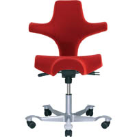 CAPISCO SADDLE CHAIR RED