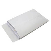 CUMBERLAND C4 ENVELOPES EXPANDABLE STRIP SEAL PLAIN 229 X 324MM WHITE PACK 50