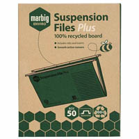 MARBIG ENVIRO SUSPENSION FILES COMPLETE BOX 50