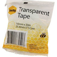 MARBIG TAPE INVISIBLE 18MM X 33M 25.4MM CORE