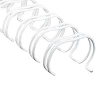 REXEL WIRE BINDING COMB 6MM A4 34 LOOP WHITE PACK 100