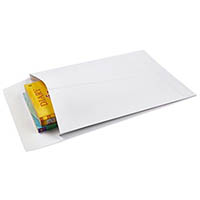 CUMBERLAND C4 ENVELOPES POCKET EXPANDABLE 150GSM 340 X 229MM WHITE BOX 100