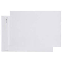 CUMBERLAND B4 ENVELOPES POCKET EASY OPEN 100GSM 353 X 250MM WHITE BOX 250