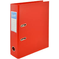 BANTEX LEVER ARCH FILE 70MM A4 RED