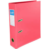 BANTEX LEVER ARCH FILE 70MM A4 PINK