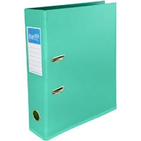 BANTEX LEVER ARCH FILE 70MM A4 TURQUOISE