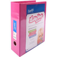 BANTEX LOLLYSHOP INSERT LEVER ARCH FILE 65MM A4 PINK