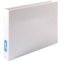 BANTEX INSERT RING BINDER LANDSCAPE 2D 38MM A3 WHITE