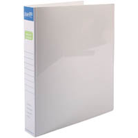 BANTEX POLY RING BINDER 3D 25MM A4 WHITE
