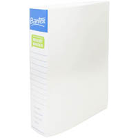 BANTEX POLY RING BINDER 2D 38MM A4 WHITE