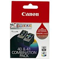 CANON PG40 + CL41 INK CARTRIDGE COMBO PACK