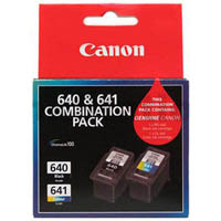 CANON PG640 AND CL641 VALUE PACK
