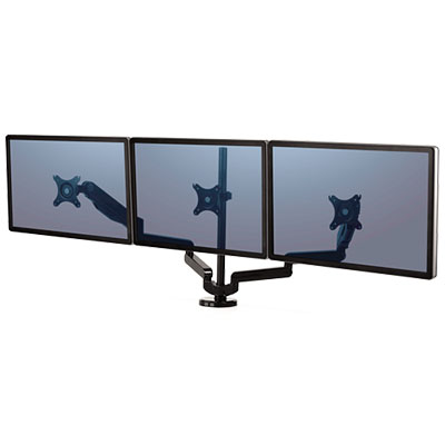 Image for FELLOWES PLATINUM SERIES MONITOR ARM TRIPLE from Surry Office National