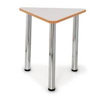 QUORUM GEOMETRY MEETING TABLE 60 DEGREE TRIANGLE 750MM