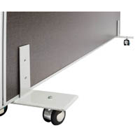 RAPID SCREEN FREESTANDING FOOT WITH CASTORS GREY