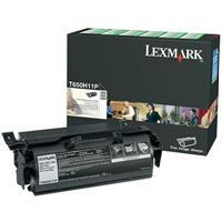 LEXMARK T650H11P PREBATE TONER CARTRIDGE BLACK