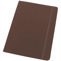 MODENA LARGE PU JOURNAL 181 X 250MM 192 PAGE BROWN