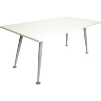 RAPID SPAN MEETING TABLE 1800 X 750MM WHITE
