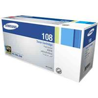 SAMSUNG MLT D108S LASER TONER CARTRIDGE BLACK