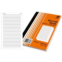 OLYMPIC NO.704 RECORD BOOK CARBONLESS DUPLICATE 50 LEAF 200 X 125MM