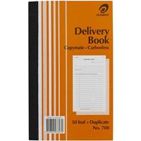 OLYMPIC NO.700 DELIVERY BOOK CARBONLESS DUPLICATE 50 LEAF 200 X 125MM