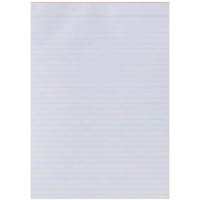OLYMPIC WRITING PAD RULED 100 PAGE 55GSM A4 WHITE